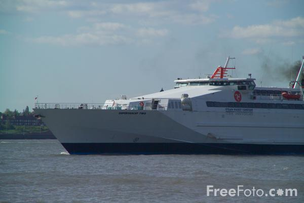 Picture of The Isle of Man Steam Packet Company Superseacat Two. - Free Pictures - FreeFoto.com