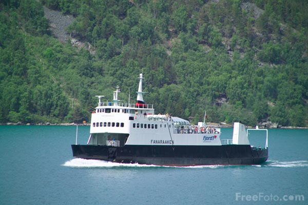 Picture of Car Ferry Norway - Free Pictures - FreeFoto.com