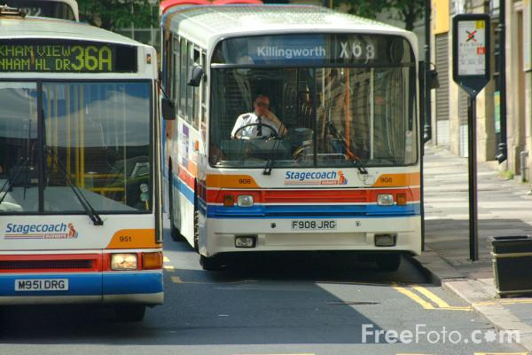 Picture of Stagecoach Buses - Free Pictures - FreeFoto.com