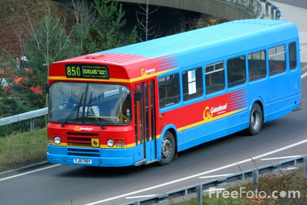 Picture of Single Decker Bus 4718 TJR718Y Leyland NL116HLXB/1R of Go Gateshead - Free Pictures - FreeFoto.com