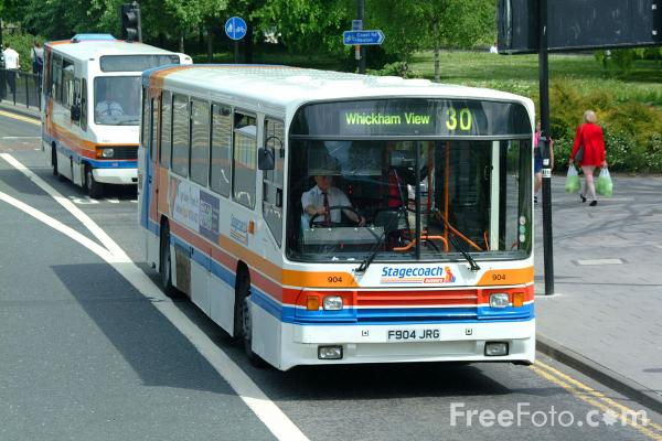 Picture of Stagecoach Single Decker Bus - Scania N113CRB Alexander PS F904JRG - Free Pictures - FreeFoto.com