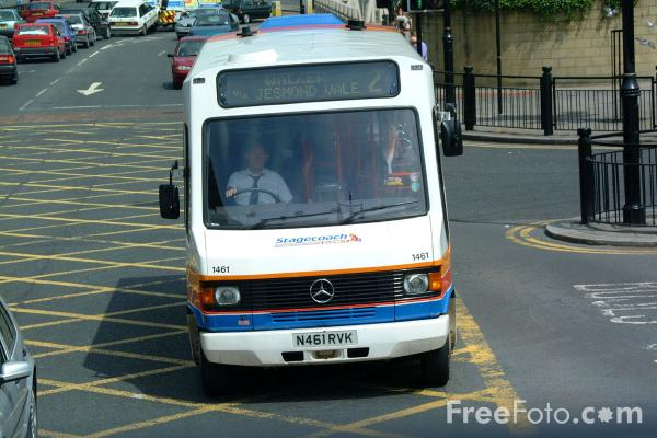 Picture of Stagecoach Bus - Mercedes-benz 709D Alexander Sprint N461RVK - Free Pictures - FreeFoto.com