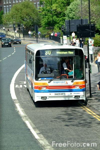 Picture of Stagecoach Busways single decker bus - Scania N113CRB Alexander PS H429EFT - Free Pictures - FreeFoto.com