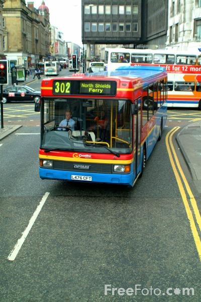 Picture of Single Decker Bus 4776 L476CFT Dennis Lance Optare of Go Coastline - Free Pictures - FreeFoto.com