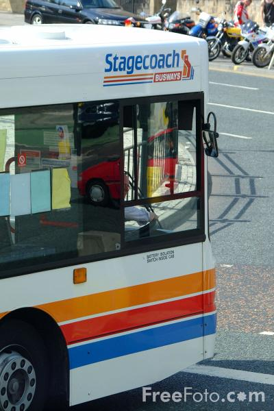 Picture of Stagecoach Busways single decker bus - Free Pictures - FreeFoto.com