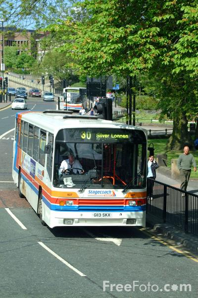 Picture of Stagecoach Busways single decker bus - Scania N113CRB Alexander PS G113SKX - Free Pictures - FreeFoto.com