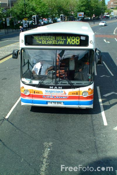 Picture of Stagecoach Busways Lo Liner single decker bus - MAN 18.220 HOCR Alexander ALX300 T478BNL - Free Pictures - FreeFoto.com