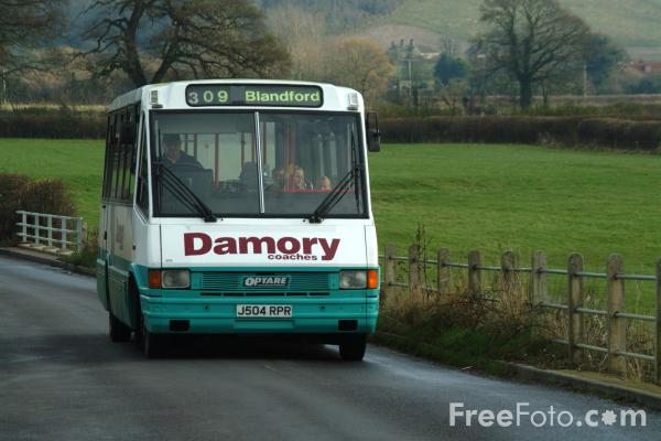 Picture of Rural Bus Transport - Free Pictures - FreeFoto.com