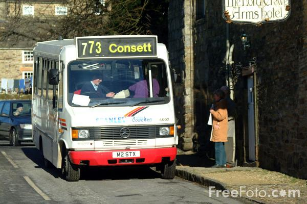 Picture of Blanchland - Consett bus service. - Free Pictures - FreeFoto.com