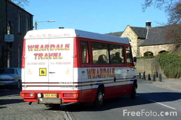 Picture of Weardale Travel rural service, Stanhope, Weardale - Free Pictures - FreeFoto.com