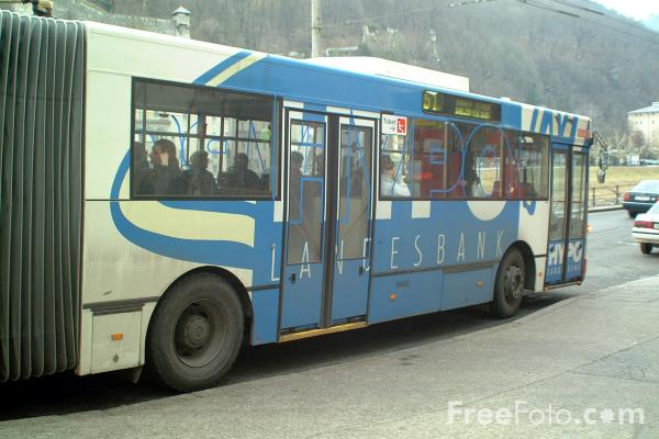 Picture of Trolley Bus, Salzburg - Free Pictures - FreeFoto.com
