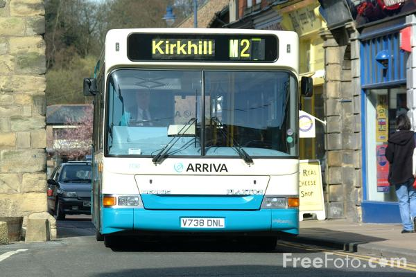 Picture of Arriva bus service in Morpeth - Free Pictures - FreeFoto.com