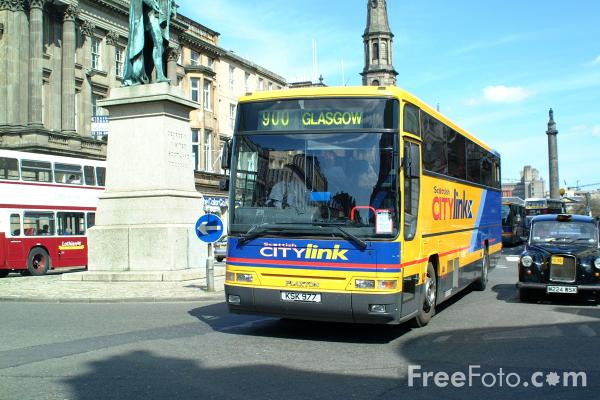 Picture of Scottish City Link - Free Pictures - FreeFoto.com