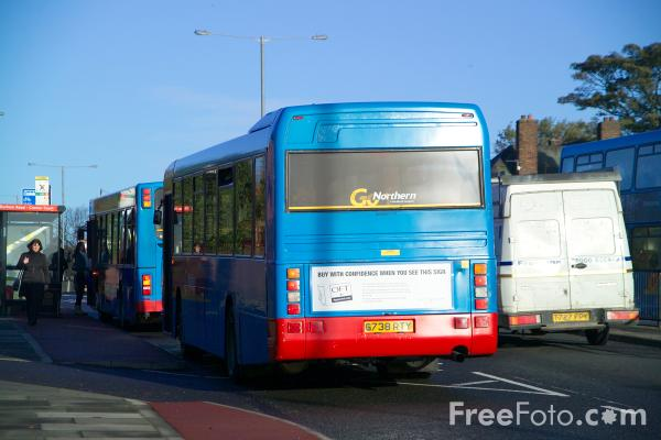 Picture of Go Northern Bus Service - Free Pictures - FreeFoto.com