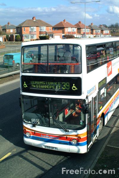 Picture of Stagecoach Busways Double Decker Bus - Free Pictures - FreeFoto.com
