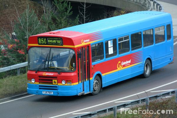 Picture of Go Gateshead Buses - Free Pictures - FreeFoto.com