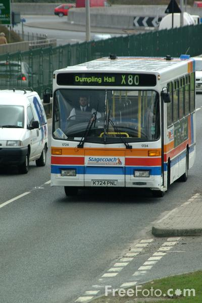 Picture of Stagecoach Busways Bus - Free Pictures - FreeFoto.com