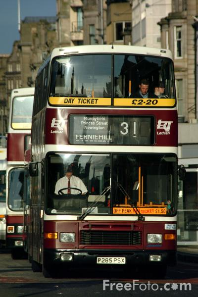 Picture of Lothian Buses - Free Pictures - FreeFoto.com