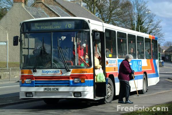 Picture of Stagecoach Busways - Free Pictures - FreeFoto.com