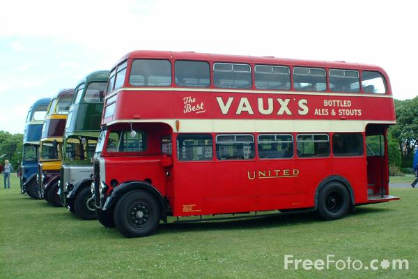 Picture of GHN189 Bristol KSG United Double Decker Bus - The oldest known ex-United bus - Free Pictures - FreeFoto.com