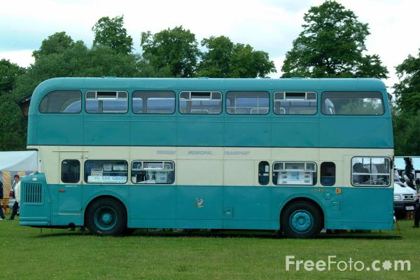 Picture of JDC544L Daimler Fleetline Teeside Municipal Transport Bus - Free Pictures - FreeFoto.com