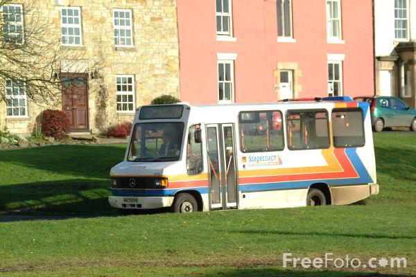 Picture of Stagecoach Rural Bus Service, Stamfordham - Free Pictures - FreeFoto.com