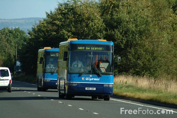 Picture of Stagecoach Express - Free Pictures - FreeFoto.com