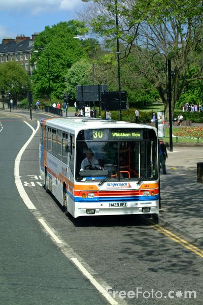 Picture of Stagecoach Busways, Newcastle upon Tyne - Free Pictures - FreeFoto.com