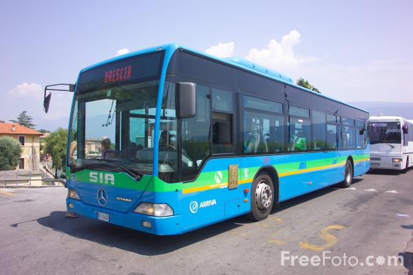 Picture of Arriva bus service in Italy - Free Pictures - FreeFoto.com