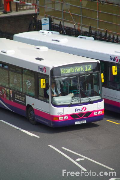 Picture of First Group UK Bus Service York - Free Pictures - FreeFoto.com