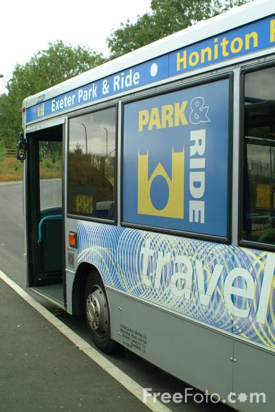 Picture of Exeter Park and Ride - Free Pictures - FreeFoto.com