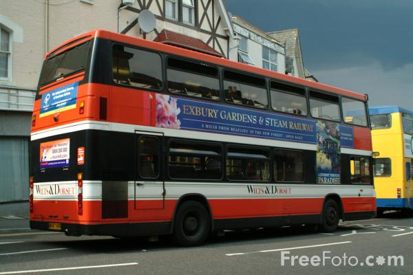 Picture of Wilts and Dorset Bus Service, Bournemouth - Free Pictures - FreeFoto.com