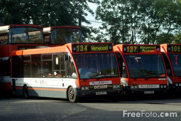 Picture of Wilts and Dorset Bus Service, Ringwood - Free Pictures - FreeFoto.com