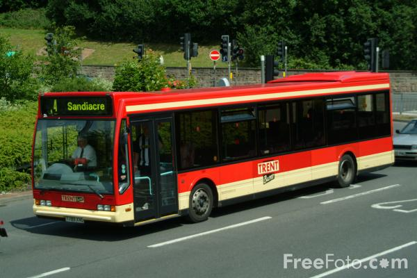 Picture of Trent Barton Bus Service - Free Pictures - FreeFoto.com