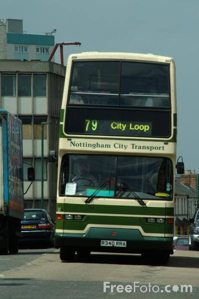 Picture of Nottingham City Transport - Free Pictures - FreeFoto.com