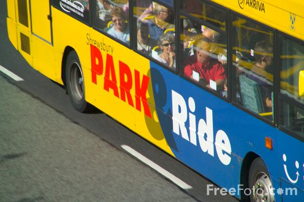 Picture of Shrewsbury Park and Ride - Free Pictures - FreeFoto.com