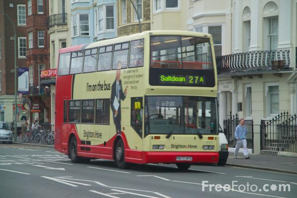 Picture of Brighton & Hove Bus Service - Free Pictures - FreeFoto.com