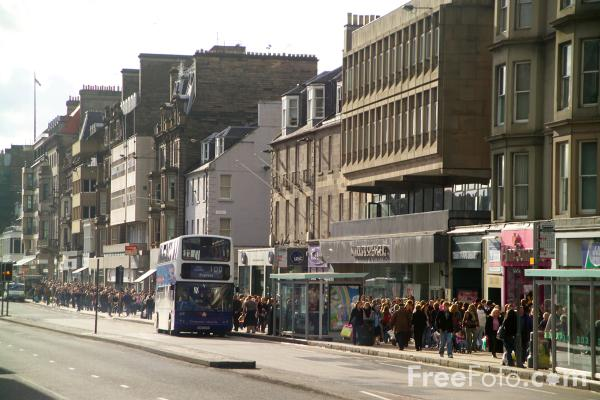 Picture of Edinburgh Bus Service - Free Pictures - FreeFoto.com