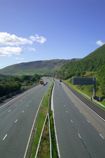 Picture of Motorway M6 - Free Pictures - FreeFoto.com