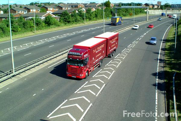 Picture of A1 Western By Pass - Free Pictures - FreeFoto.com