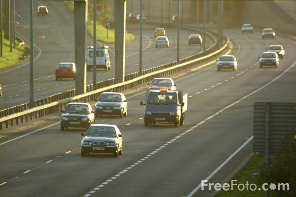 Picture of A1 Western By Pass, Westerhope, Newcastle upon Tyne - Free Pictures - FreeFoto.com