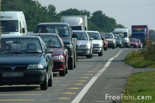 Picture of Exeter - Southampton Trunk Road - Free Pictures - FreeFoto.com