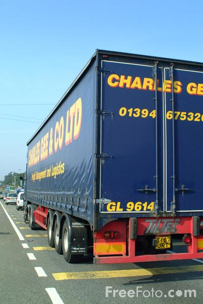 Picture of A31 Trunk Road near Ringwood - Free Pictures - FreeFoto.com