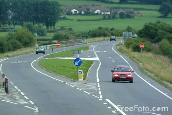 Picture of A35 Exeter - Southampton Trunk Road - Free Pictures - FreeFoto.com