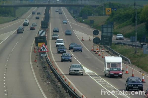 Picture of Junction 9, M42 Motorway - Free Pictures - FreeFoto.com