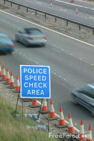 Picture of Police Speed Check Area, Junction 9, M42 Motorway - Free Pictures - FreeFoto.com