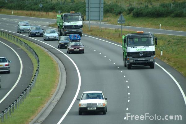 Picture of A34 Newbury by pass - Free Pictures - FreeFoto.com
