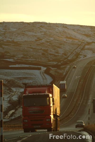 Picture of A66 Trunk Road, Stainmore, Cumbria - Free Pictures - FreeFoto.com