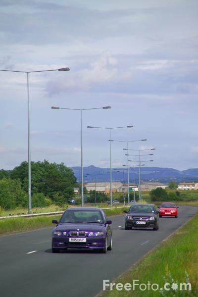 Picture of A66 Grangetown - Workington Trunk Road - Free Pictures - FreeFoto.com