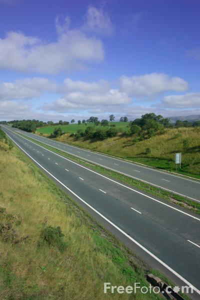 Picture of A66 Grangetown - Workington Trunk Road near Appleby - Free Pictures - FreeFoto.com